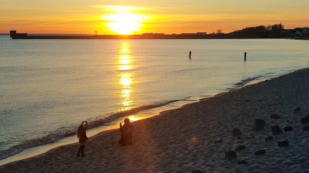 Zachód słońca Hel 2016